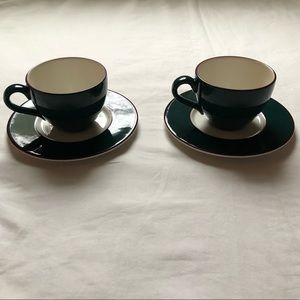 Pagnossin Spa Treviso Ironstone Tea Cup & Saucer
